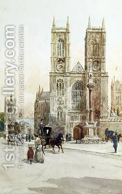 Temple of Reconciliation Westminster by Charles James Lauder - Reproduction Oil Painting