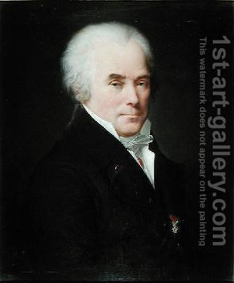 Jean Jacques Leroux de Tillets 1749-1832 by Charles Paul Landon - Reproduction Oil Painting