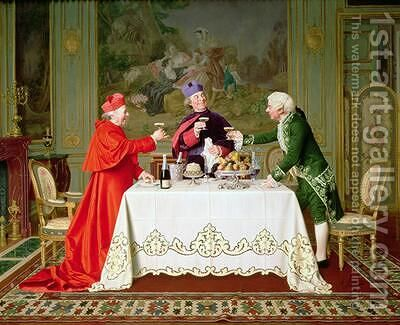 Champagne Toast by Andrea Landini - Reproduction Oil Painting