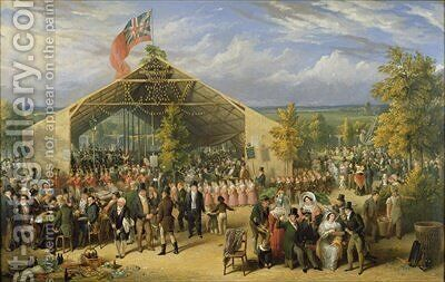 The Annual Fete of the Licensed Victuallers School by E. F. Lambert - Reproduction Oil Painting