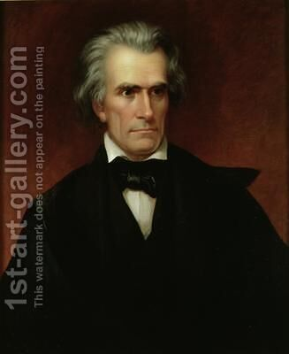 John Caldwell Calhoun 1782-1850 by James Reid Lambdin - Reproduction Oil Painting