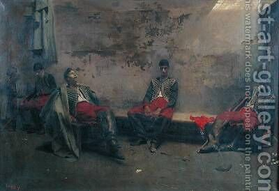 Prisoners of War by Jacques de Lalaing - Reproduction Oil Painting