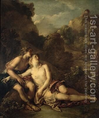Acis and Galatea by Charles de Lafosse - Reproduction Oil Painting