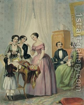 The Wedding Presents by (after) Lafon, Henri - Reproduction Oil Painting