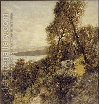 Ligurian Hillside by Henry Herbert La Thangue - Reproduction Oil Painting