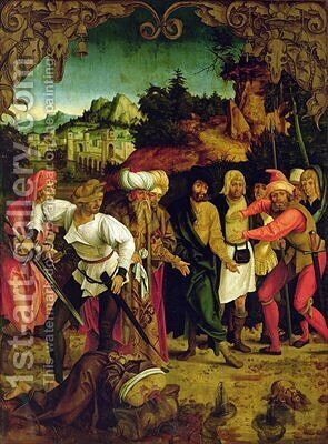 The Beheading of St. Paul by Hans Suess Kulmbach - Reproduction Oil Painting