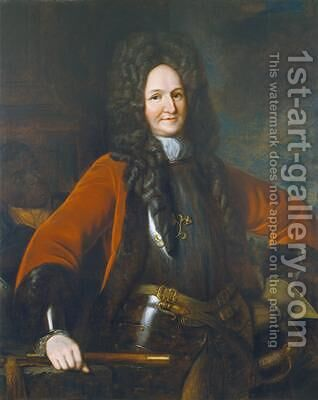 General Hugh Mackay 1640-92 by (after) Kneller, Sir Godfrey - Reproduction Oil Painting