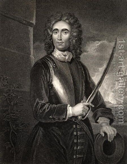 John Benbow by (after) Kneller, Sir Godfrey - Reproduction Oil Painting
