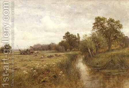 Near Arundel West Sussex by Henry John Kinnaird - Reproduction Oil Painting