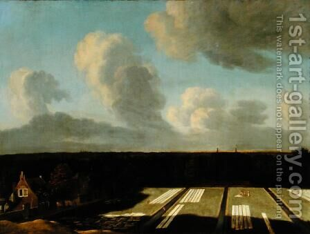 Bleaching Ground near Haarlem by Jan van Kessel - Reproduction Oil Painting