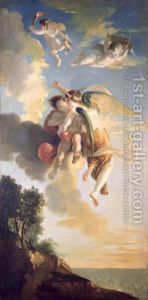 Aurora Ascending the Heavens by Jean Antoine Julien de Parme - Reproduction Oil Painting