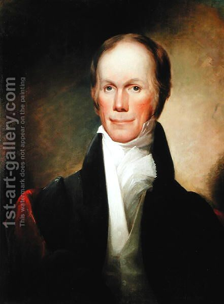 Henry Clay 1777-1852 by (after) Jouett, Matthew - Reproduction Oil Painting