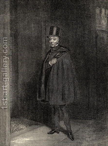 The Duke Entering the House of Lords by (after) Jones, Samuel John Egbert - Reproduction Oil Painting