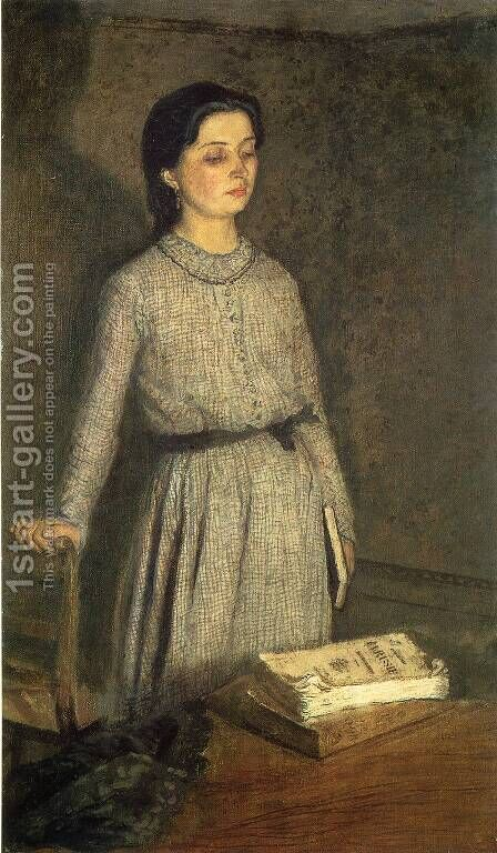 The Student by Gwen John - Reproduction Oil Painting