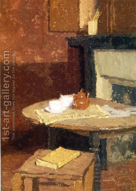 The Brown Tea Pot by Gwen John - Reproduction Oil Painting