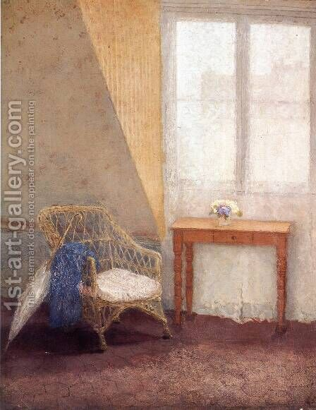 A Corner of the Artists Room in Paris by Gwen John - Reproduction Oil Painting