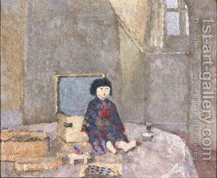 The Japanese Doll by Gwen John - Reproduction Oil Painting
