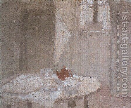 The Little Interior by Gwen John - Reproduction Oil Painting