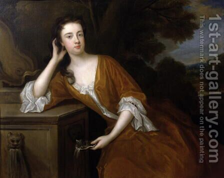 Lady Louisa Berkeley by Charles Jervas - Reproduction Oil Painting