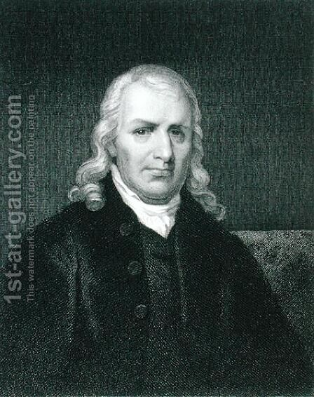 Samuel Chase 1741-1811 by (after) Jarvis, John Wesley - Reproduction Oil Painting