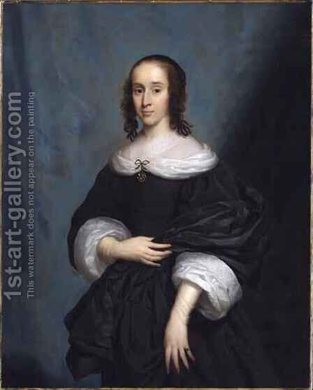 Portrait of a Lady 2 by Cornelius Janssens van Ceulen - Reproduction Oil Painting