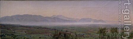 The Pontine Marshes by Alexander Ivanov - Reproduction Oil Painting