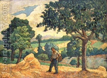 The Harvester by Henri-Gabriel Ibels - Reproduction Oil Painting