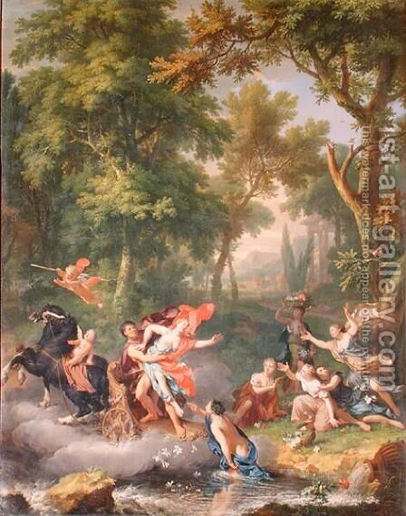 The Rape of Proserpine by Jan Van Huysum - Reproduction Oil Painting