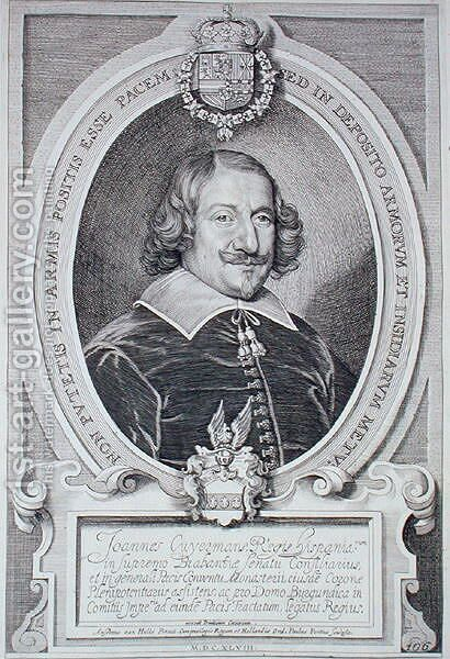 Johann Cuyermans by (after) Hulle, Anselmus van - Reproduction Oil Painting