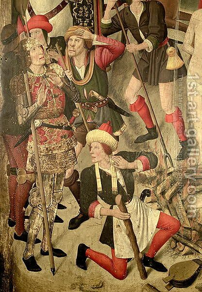 The Martydom of St Vincent by Jaume Huguet - Reproduction Oil Painting