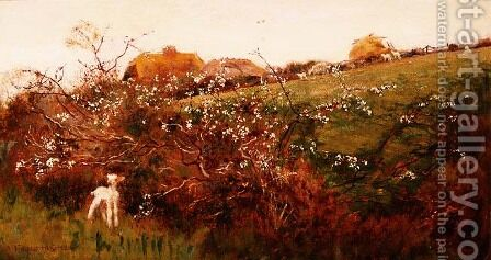 Springtime by A. Foord Hughes - Reproduction Oil Painting