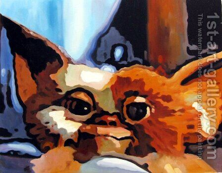Gremlins - Gizmo by Pop Art - Reproduction Oil Painting