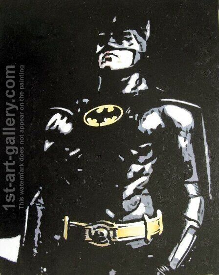 Batman by Pop Art - Reproduction Oil Painting