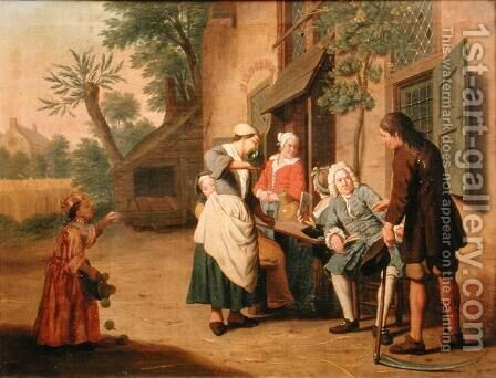The Four Seasons Summer by Jan Jozef, the Younger Horemans - Reproduction Oil Painting
