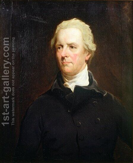 Portrait of William Pitt the Younger 1759-1806 by (after) Hoppner, John - Reproduction Oil Painting