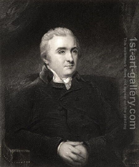 Dr Matthew Baillie by (after) Hoppner, John - Reproduction Oil Painting