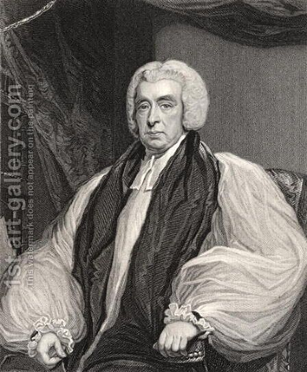 Reverend Beilby Porteus by (after) Hoppner, John - Reproduction Oil Painting