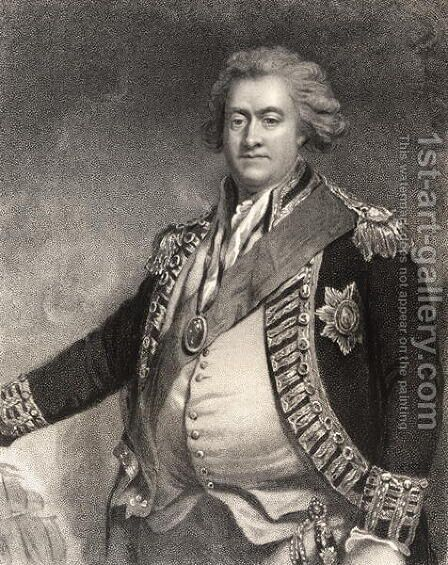 Adam Duncan 1st Viscount Duncan of Camperdown by (after) Hoppner, John - Reproduction Oil Painting