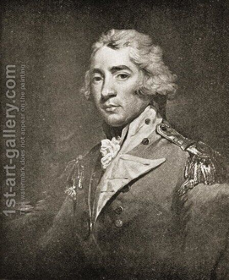Thomas Graham 1748-1843 Lord Lynedoch by (after) Hoppner, John - Reproduction Oil Painting