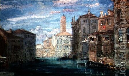 Venice 4 by James Holland - Reproduction Oil Painting