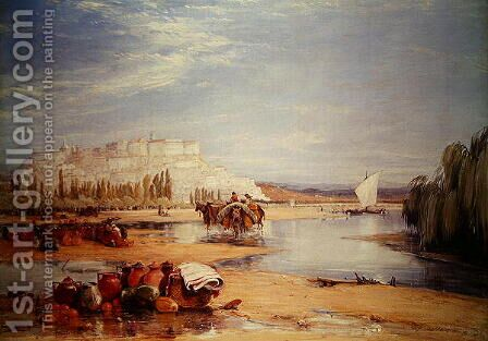 Cambria Portugal by James Holland - Reproduction Oil Painting