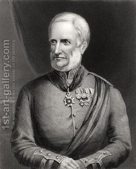 Major General Sir Henry Havelock 1795-1857 by (after) Holl, Charles - Reproduction Oil Painting
