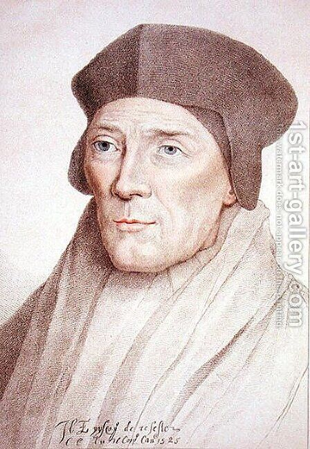 John Fisher Bishop of Rochester 1469-1535 by (after) Holbein the Younger, Hans - Reproduction Oil Painting
