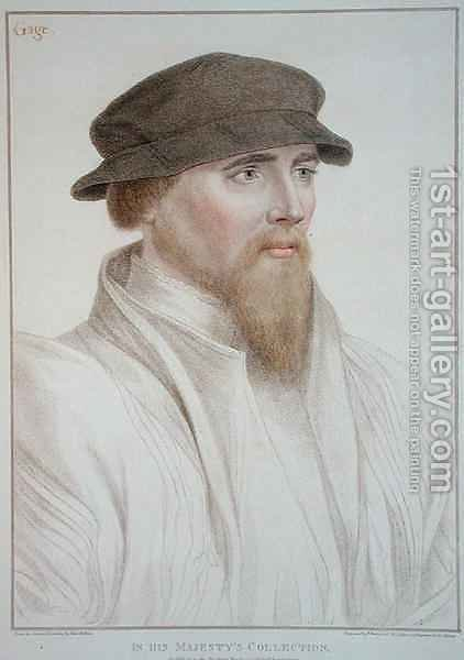 Portrait of John Gaye by (after) Holbein the Younger, Hans - Reproduction Oil Painting