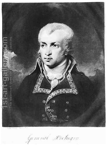 General Charles Pichegru 1761-1804 by Charles Howard Hodges - Reproduction Oil Painting