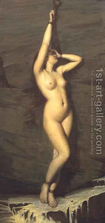 Captive Andromeda by Arthur Hill - Reproduction Oil Painting