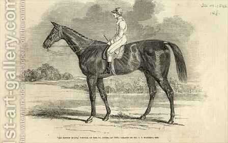 Sir Tatton Sykes Winner of the St Leger from The Illustrated London News by (after) Herring Snr, John Frederick - Reproduction Oil Painting
