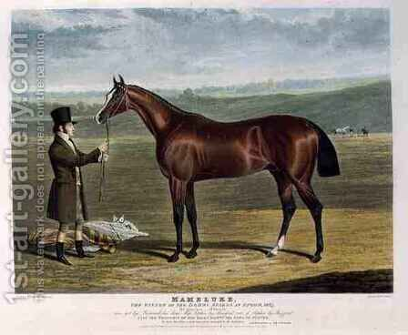 Mameluke the Winner of the Derby Stakes at Epsom by (after) Herring Snr, John Frederick - Reproduction Oil Painting