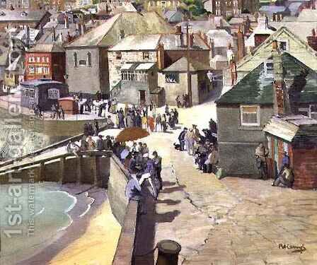 Dolce Far Niente St Ives by Boris V. de Heroys - Reproduction Oil Painting