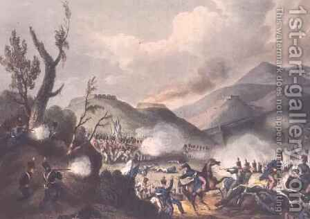 Battle of Busaco by (after) Heath, William - Reproduction Oil Painting